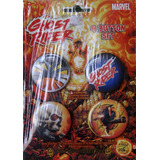 Ghost Rider Set Con 4 Botones O Pines Pin