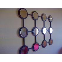 Moderno Cuadro Con Espejos Diseño Decoración