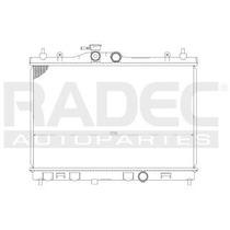 Radiador Nissan Tiida 2007-2008-2009 L4 1.6/1.8lts Estandar