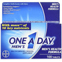 One A Day Mens 100ct Size 100ct One A Day Men