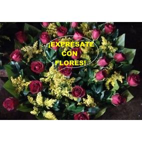 Arreglo Floral Para Toda Ocasión,bodas,14 Febrero,etc
