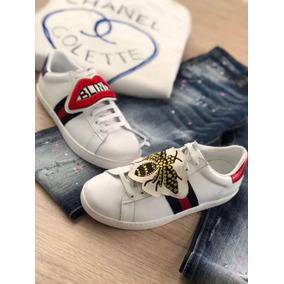 785b7602 Zapatos Gucci - Tenis para Mujer Blanco en Mercado Libre Colombia