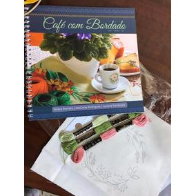 Livro Café Com Bordado