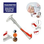 2 X Paquímetro Analógico Manual De Plástico 150mm (6 Pol)