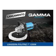 Politriz Angular 7' 1200w 220v Gamma G1928/br2 Lixadeira