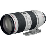 Lente Canon Ef 70-200mm Is Ii Usm Telephoto Zoom/white