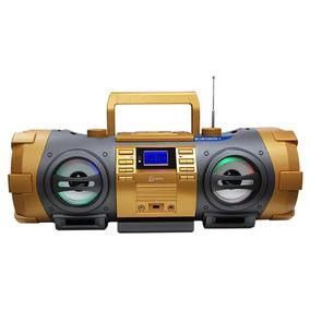 Boombox Lenoxx 100w Rms Com Fm Estéreo, Bluetooth, Cd E Mp3
