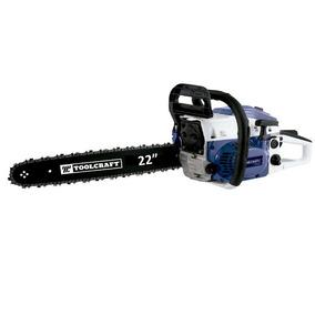 Motosierra De Gasolina Toolcraft 3.3 Hp/barra 22pulg. 58 Cc