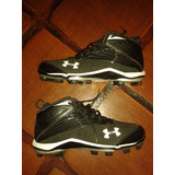 Tacos De Baseball/softball Under Armour Originales Talla 13