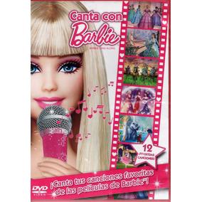 Canta Con Barbie - 12 Canciones De Las Películas - Dvd