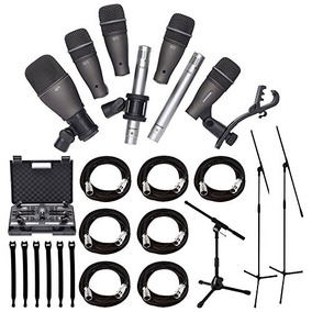 Samson Dk707 Juego De Micrófonos Para Batería De 7 Piezas B