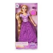 Boneca Clássica Rapunzel Com Anel - Enrolados Melhor Preço