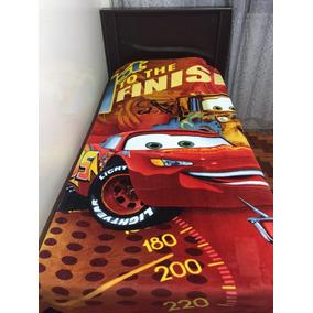 Cobertor Manta Carros 3 + Carrinho Mcqueen Frete Grátis