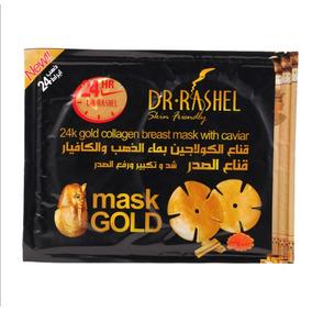 Mascarilla Dorada De Colageno Dr. Rashel Drl002 (24 Piezas)