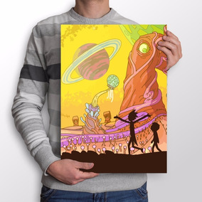 Poster Rick And Morty - Paisagem