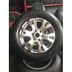 01 Roda Ranger Aro 18 + 01 Pneu 265/60r18 Bridgestone Novo !