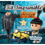 Kit Imprimible Mi Villano Favorito 2 Candy Bar Scrapbook