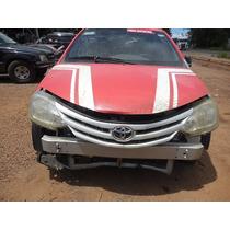 Sucata Toyota Etios 1.5 Xs Para Vendas De Peças