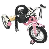 Triciclo De Acero Para Niñas Schwinn Roadster Rosa