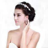 Arranjo Cabelo Noiva Tiara Grinalda Coroa Dama Casamento