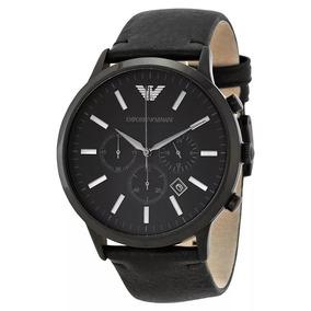 6aa44422d34 Relógio Emporio Armani Ar5855 Ar 5855 Preto Novo Na Caixa - Relógios ...