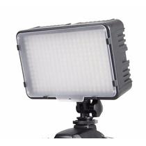 Iluminador Phottix 168 Led Video Dslr P/bat Canon Nikon Sony