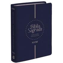 Bíblia Sagrada Nvi Letra Extragigante 17x24 Grande