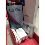 Lg G4, 32gb, 16mpx,3gb Ram,negro Blanco+micavidrio