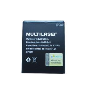 Bateria Celular Multilaser Ms45s 3.7v 1500mah Mlb45 Cp491p