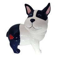 Cofrinho Cofre Cachorrinho Coracão 16cm