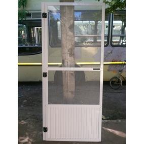 Puerta Mosquitera De Aluminio De 89x201