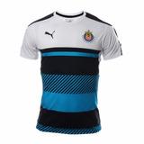 Jersey Oficial Entrenamiento Puma Chivas Azul 2016-2017