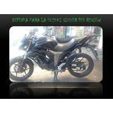 Defensa Delantera (crash Bash) Suzuki Gixxer 155 Riview