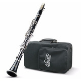 Clarinete Concert Bb Si Bemol Abs 17 Chaves + Case . Loja!