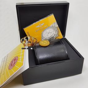 Caixa Breitling - Box Estojo Completo Novo - Até 12x S/juros