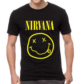 Remera Nirvana Musica Rock Hombre Mujer Somos Local Envios