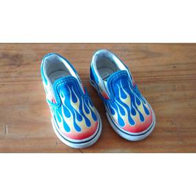 zapatillas vans fuego