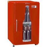Cervejeira Vertical Gelopar Frost Free 112l Vermelha 110v