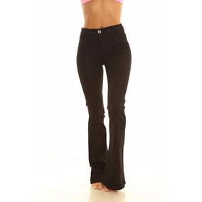 Pantalon Jean Oxford Negro Mujer Marca By Hit