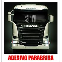 Adesivo Parabrisa Caminhão Nome