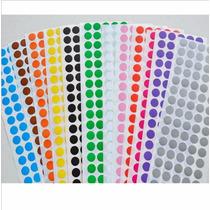 Etiqueta Bolinha Pequena Colorida 100 Etiquetas Freter$10,90