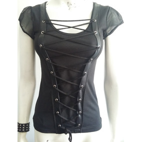 Remera Dark Metal Goth