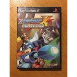 Megaman X Collection Mega Man Playstation 2 Ps2 Capcom