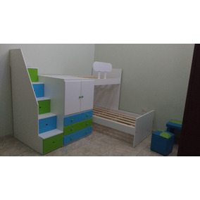 Camas En L,camas Cuchetas,camas Infantiles,camas Desplazadas
