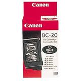 Canon Bc-20 Negro Cartucho De Tinta Twin Pack