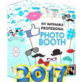 Kit Imprimible Fiestas Bodas Completo Props Photo Booth