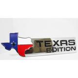 Emblema Texas Edition Dodge Ram Silverado Jeep Cromado
