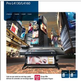 Plotter Latex Ricoh Pro L4160, Para Partes,tiene Tintas Nuev