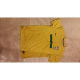 Jersey Playera Brasil Fútbol Original