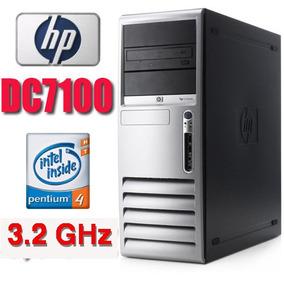 Pc Cpu Hp Intel 3.2ghz +hd+dvd+ Vga+ Garantia!!